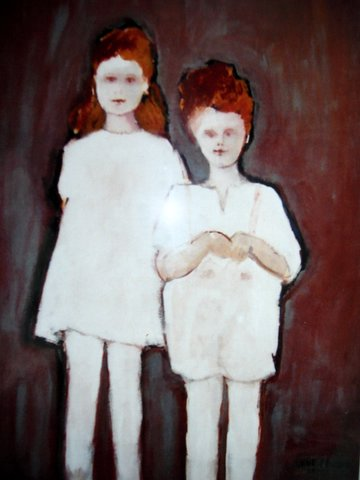 """Portret van """""""" Twee niet teruggekomen kinderen""""……."""