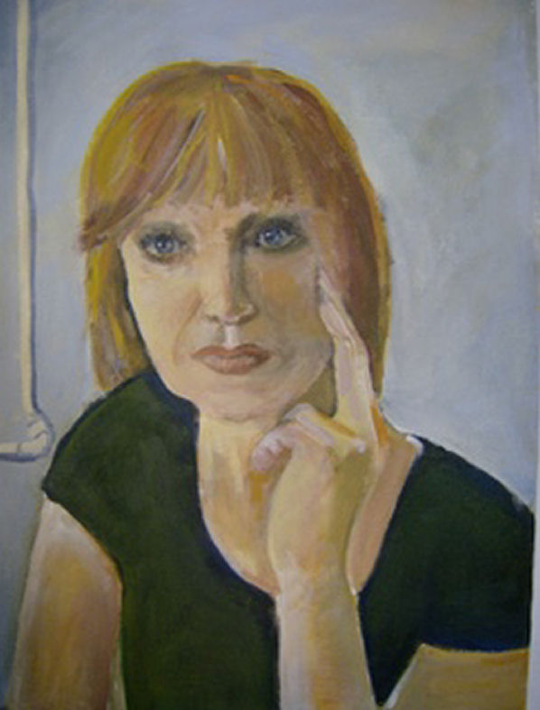 Zelfportret met verwarmingsbuis ( 2008 ).
