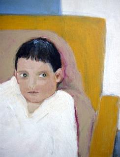 Detail van schilderij