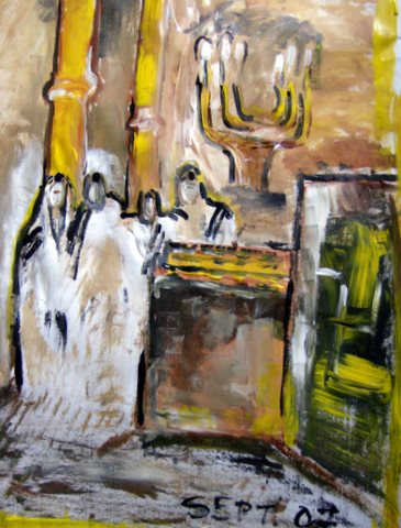 Sjoel ,Beth Knesseth, synagoge