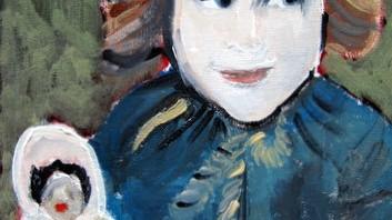"""Portretje komt in de volgende expositie van het Joods Historisch Museum over """" Leven na de oorlog """"."""