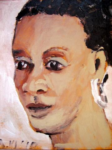 Bijna elke dag een portretje, een mooie oefening!