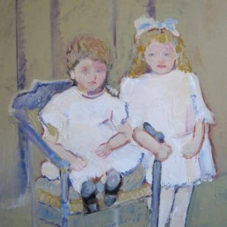 Twee kinderen anno 1930