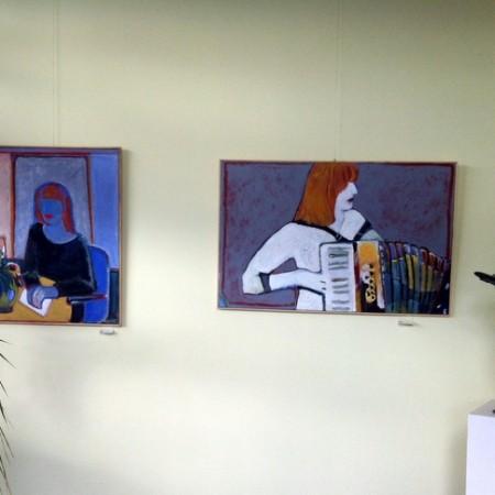 Overzicht van lopende tentoonstelling Klas Vijf te Velp
