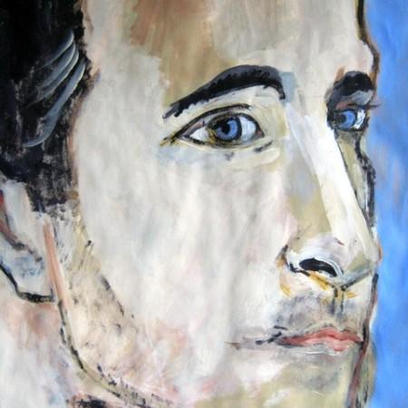 Portret iets warmer van kleur gemaakt, maar ik ben er nog niet.