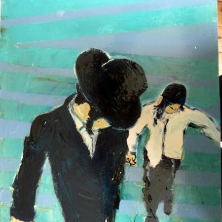 Opdracht Artez, paneelschilderen